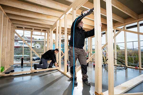 Costruzione di case di legno certificate
