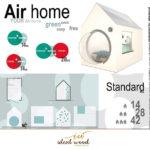 progetto in legno Air home