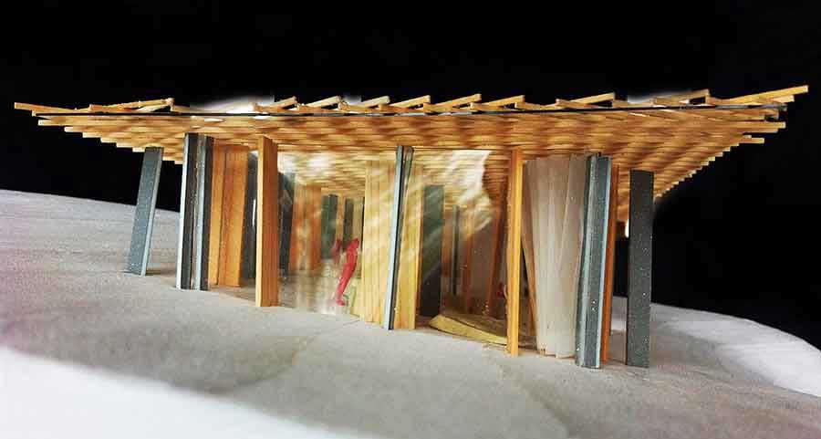 progetto di strutture in legno di 57studio