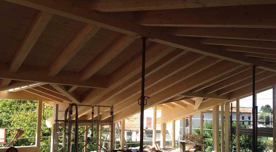 realizzazione di un sopralzo in legno a Gavirate