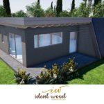 progetto di Villa America firmato Ideal Wood